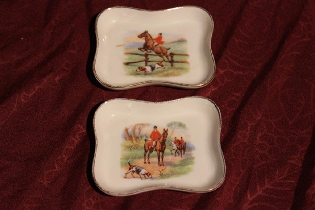 Limoges Trinket Box with 2 Dishes - 4