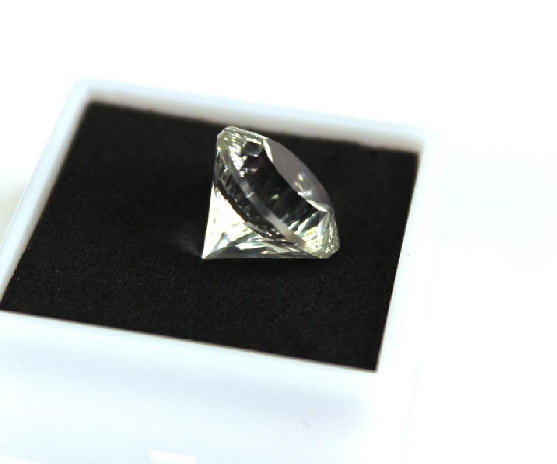 9.75 CT MIN 14MM Unheated White Topaz Gemstone - 5