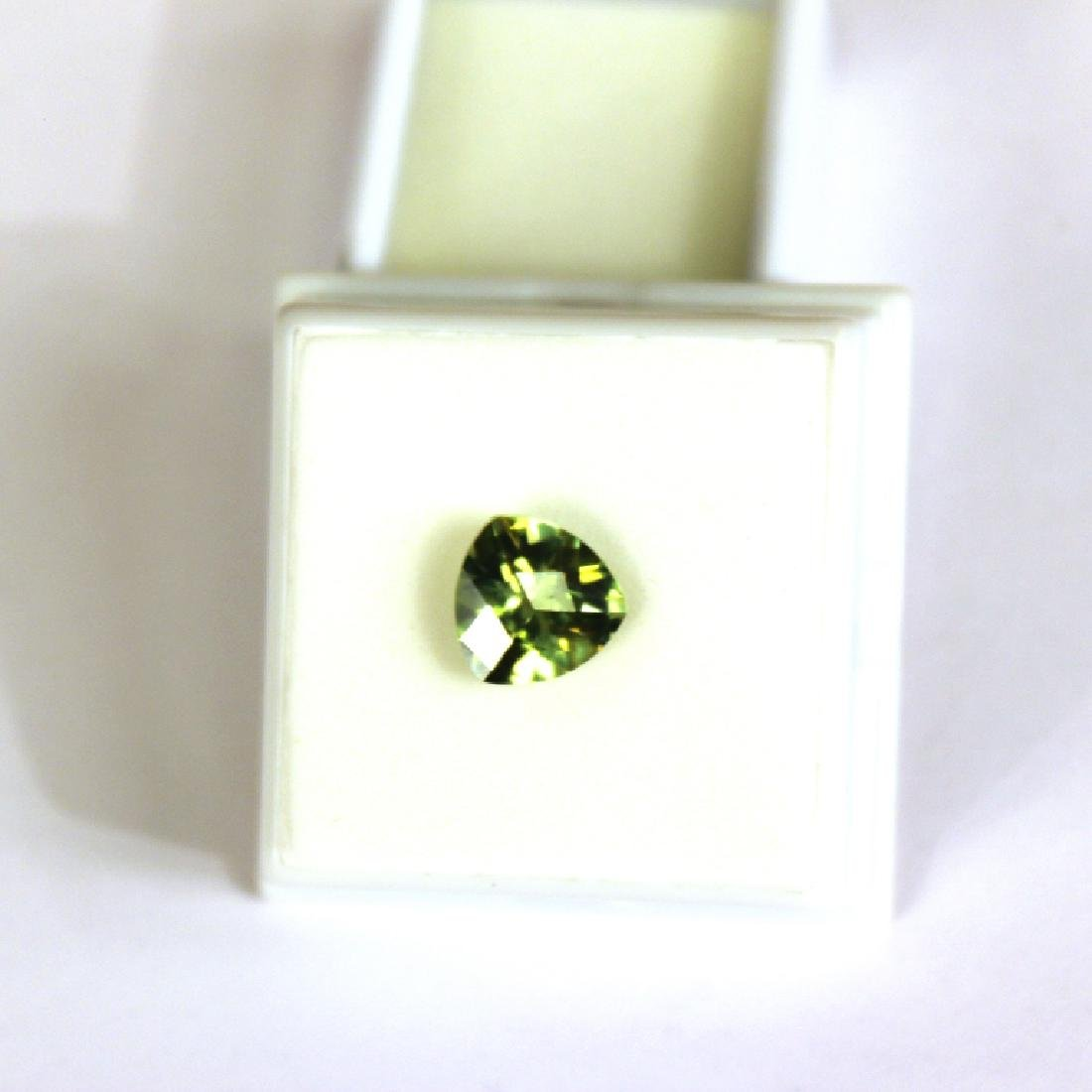 Approx 3.25 CT 10x10MM Kiwi Topaz Gemstone