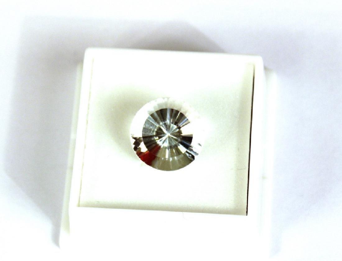 Approx. 9.10 CT 14MM Round White Topaz Gemstone