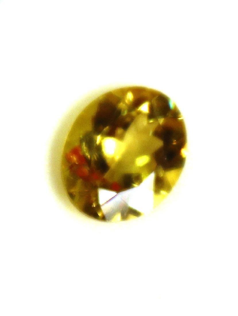 3.09 CT Oval Yellow Apatite Gemstone - 2