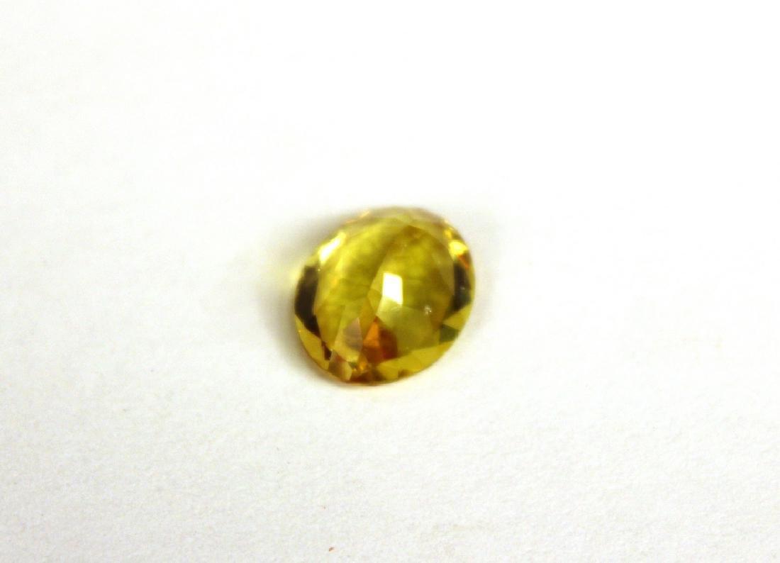 3.09 CT Oval Yellow Apatite Gemstone - 3