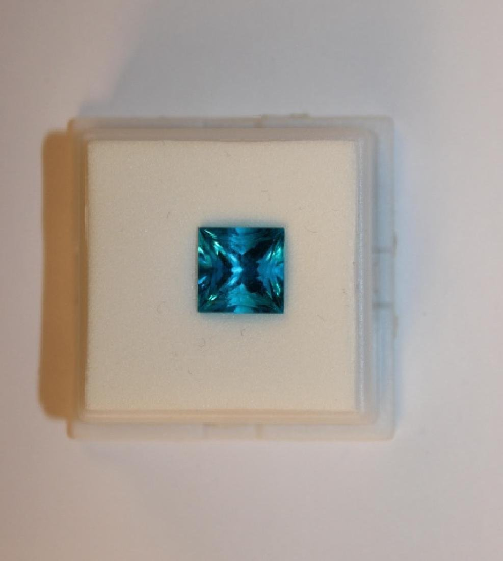 4.00 CT MIN 10x10MM Paraiba Ice Tourmaline Gemston
