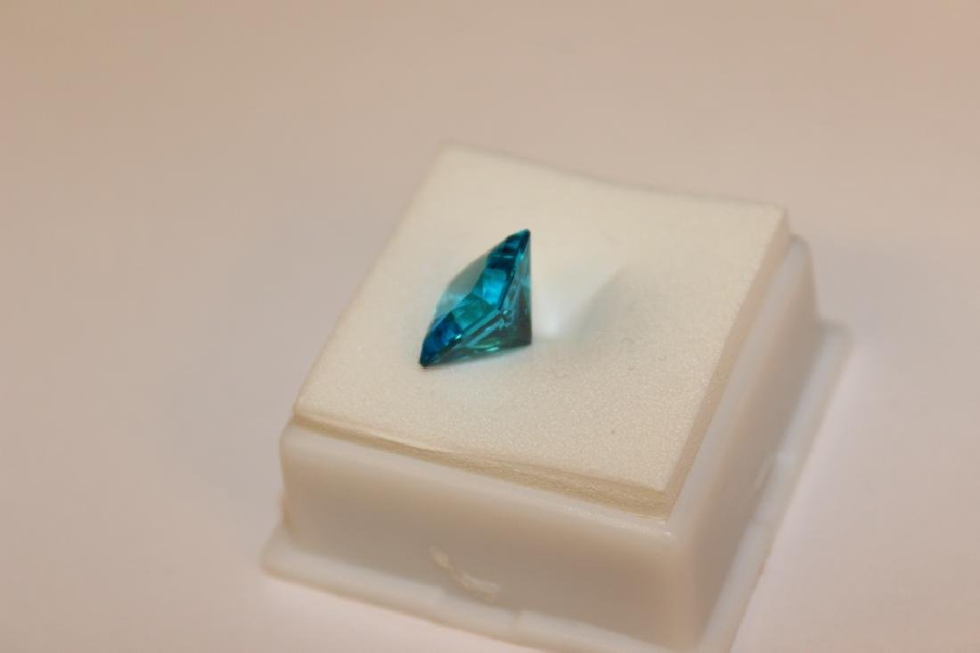 4.00 CT MIN 10x10MM Paraiba Ice Tourmaline Gemston - 2