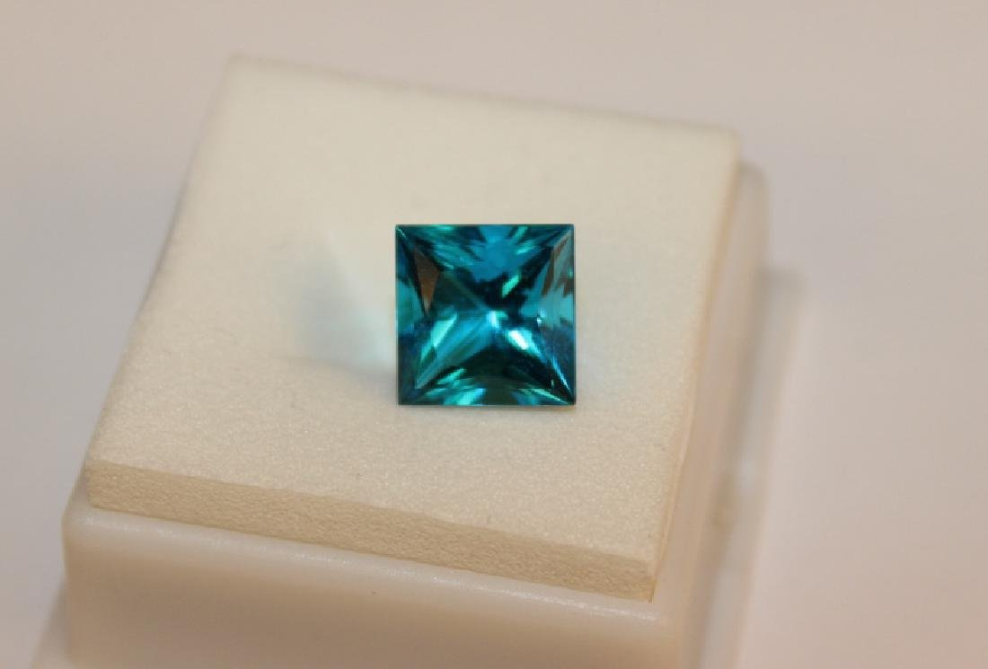 4.00 CT MIN 10x10MM Paraiba Ice Tourmaline Gemston - 3