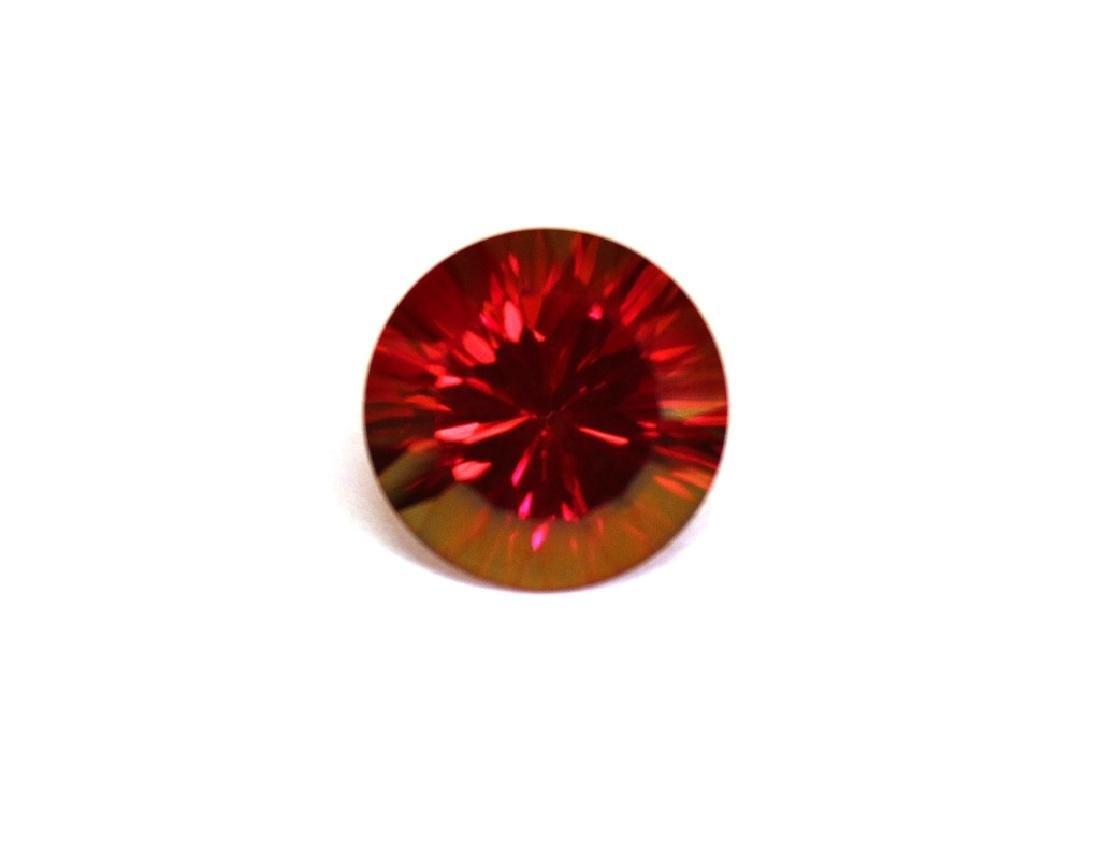 6.30 CT MIN 12MM Crimson Red Topaz Gemstone