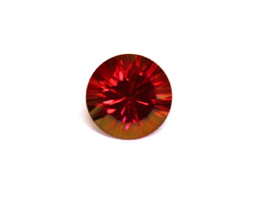 6.30 CT MIN 12MM Crimson Red Topaz Gemstone