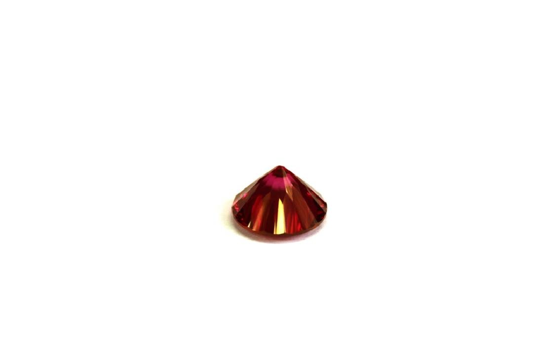 6.30 CT MIN 12MM Crimson Red Topaz Gemstone - 4