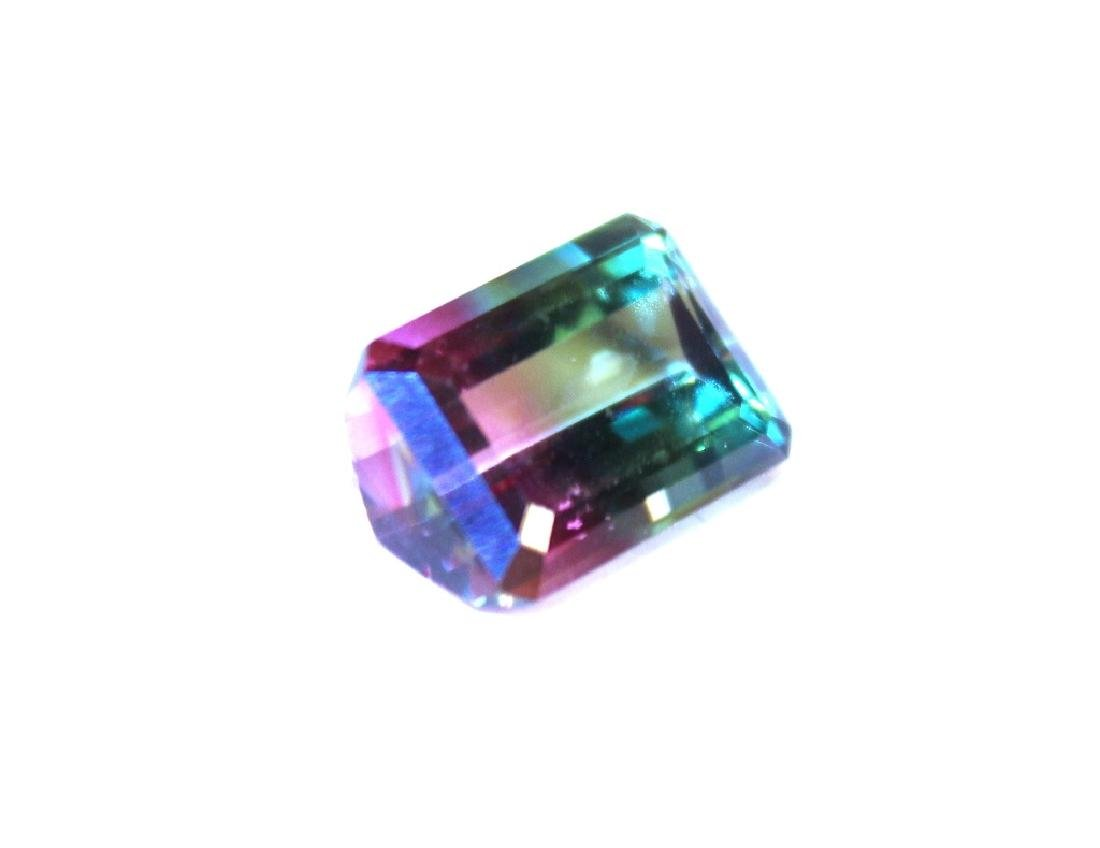 9.25 CT MIN 14x10MM Bi Color Mystic Topaz Gemstone - 2