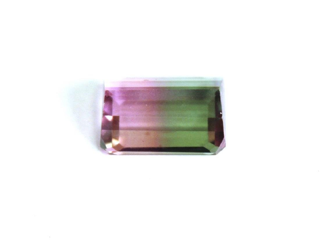 9.25 CT MIN 14x10MM Bi Color Mystic Topaz Gemstone - 4