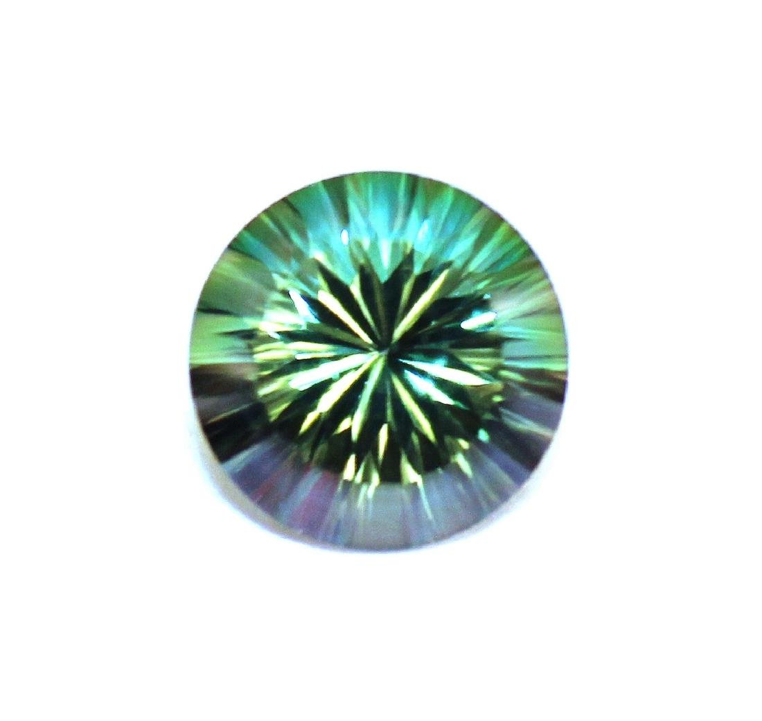 3.00 CT MIN 10MM Emerald Envy Topaz Gemstone