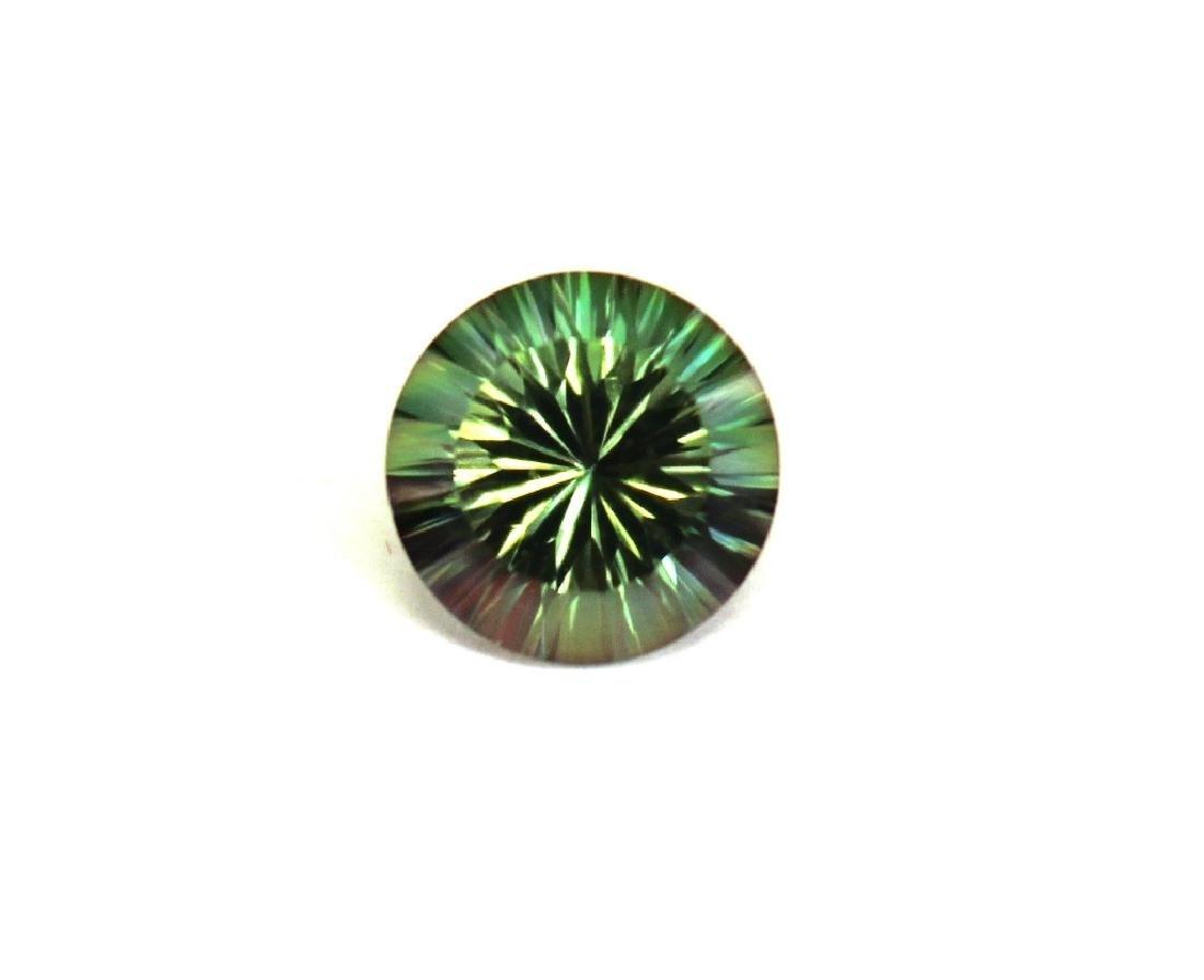 3.00 CT MIN 10MM Emerald Envy Topaz Gemstone - 2