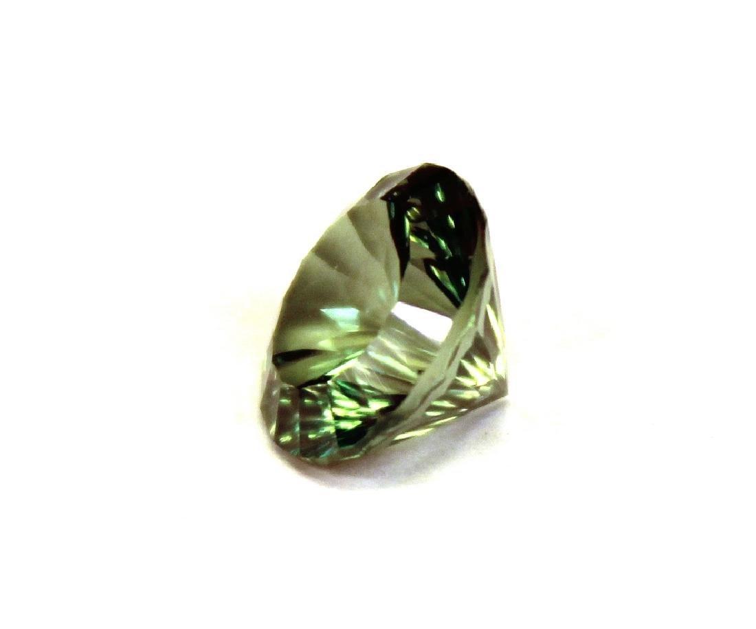 3.00 CT MIN 10MM Emerald Envy Topaz Gemstone - 3