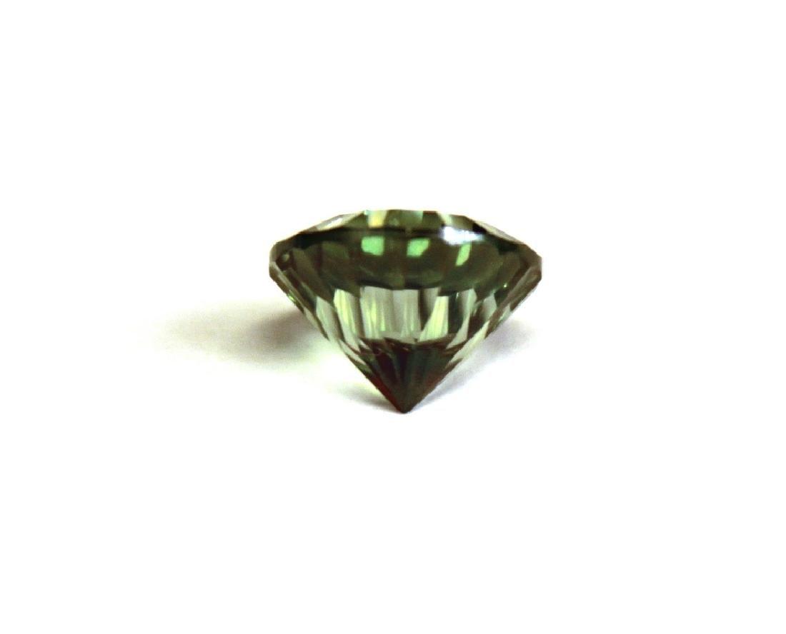 3.00 CT MIN 10MM Emerald Envy Topaz Gemstone - 4