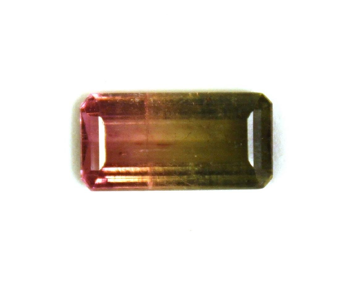 4.00 CT MIN Bi Color Watermelon Tourmaline Gemston