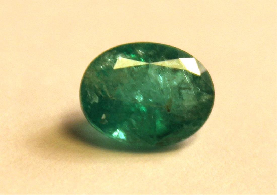 1.30 CT MIN 9x7MM Zambian Emerald - 2