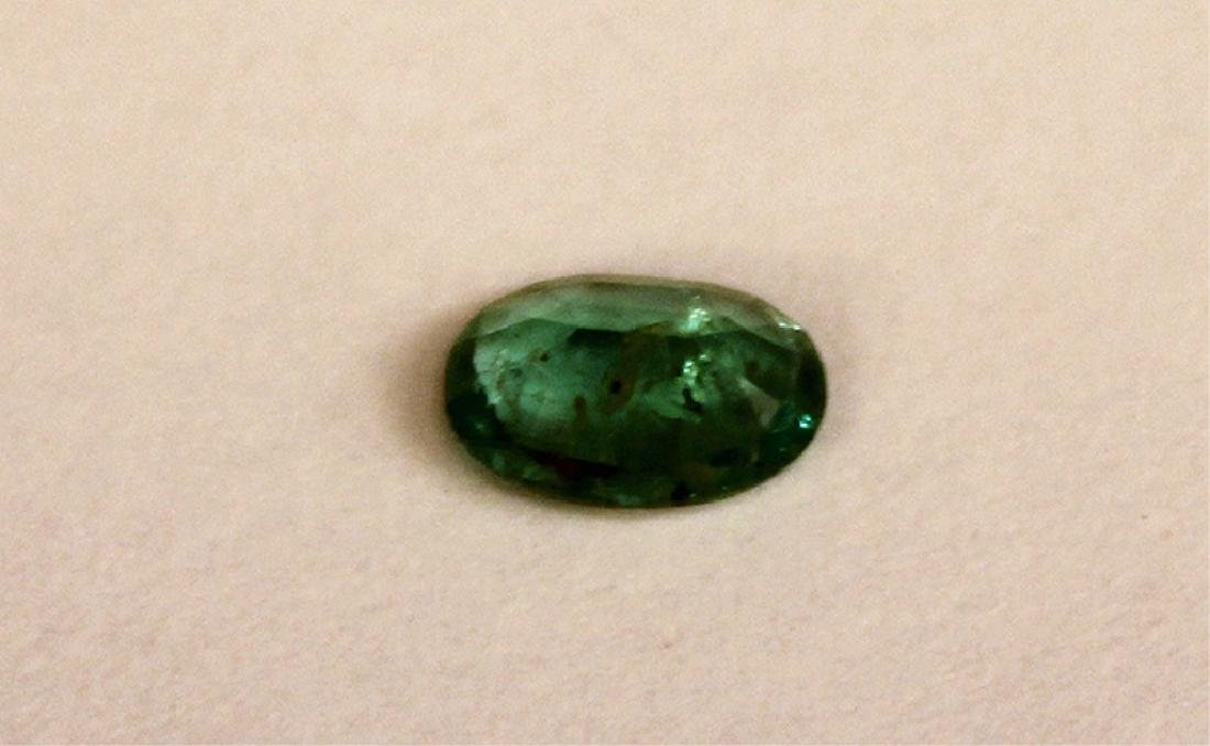 .25 CT MIN Oval Zambian Emerald Gemstone - 5