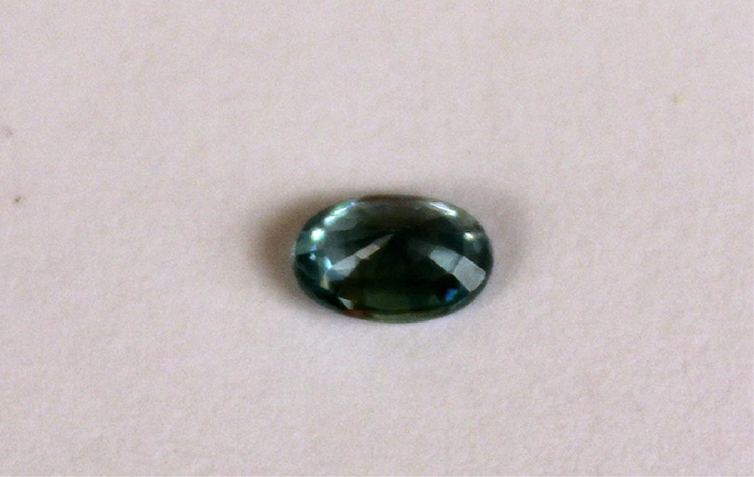 .65 CT MIN 6x4MM Blue Cambodian Zircon Gemstone - 4