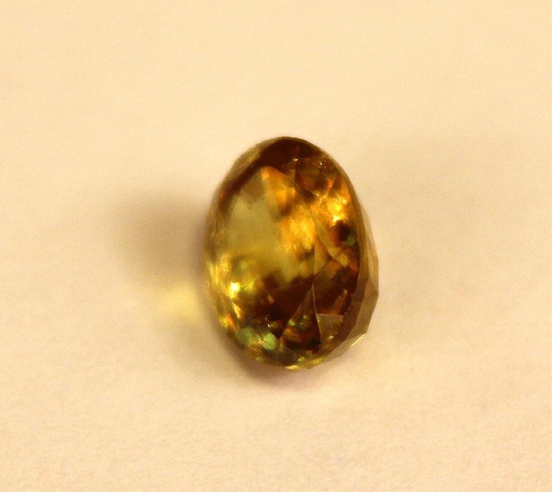 1.50 CT MIN 9x7MM Oval Sphene Gemstone - 2
