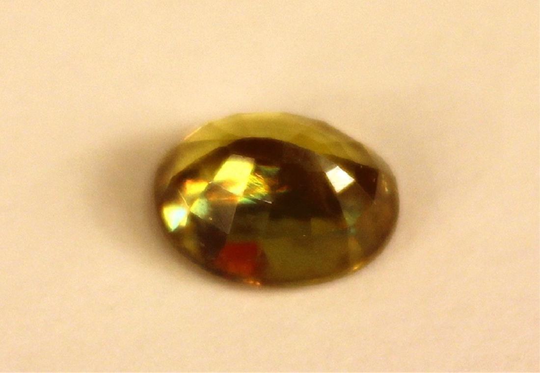 1.50 CT MIN 9x7MM Oval Sphene Gemstone - 4