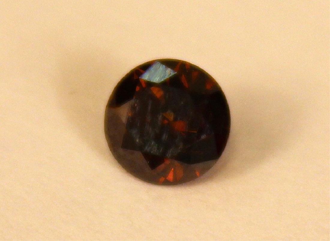 .70 CT 5.65MM Cognac Diamond Gemstone - 3