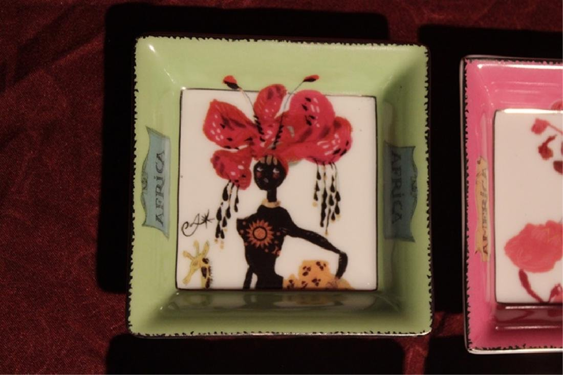 Set of 5 Trinket Dishes by Christian Lacroix - 2