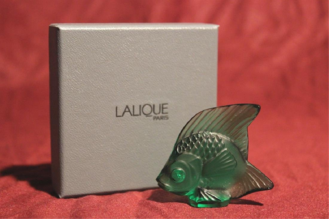 Lalique France Crystal Fish
