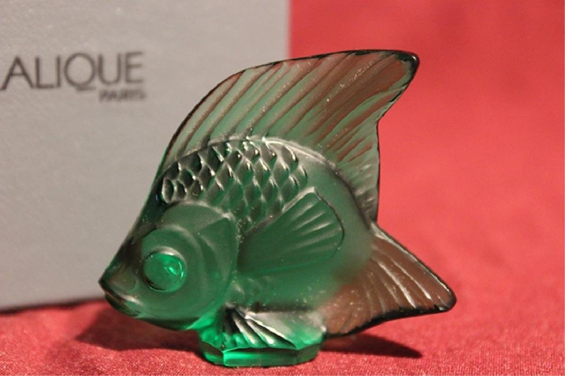 Lalique France Crystal Fish - 2