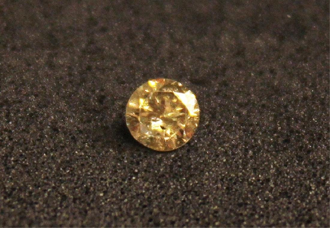 .15 CT MIN Champagne Diamond Gemstone