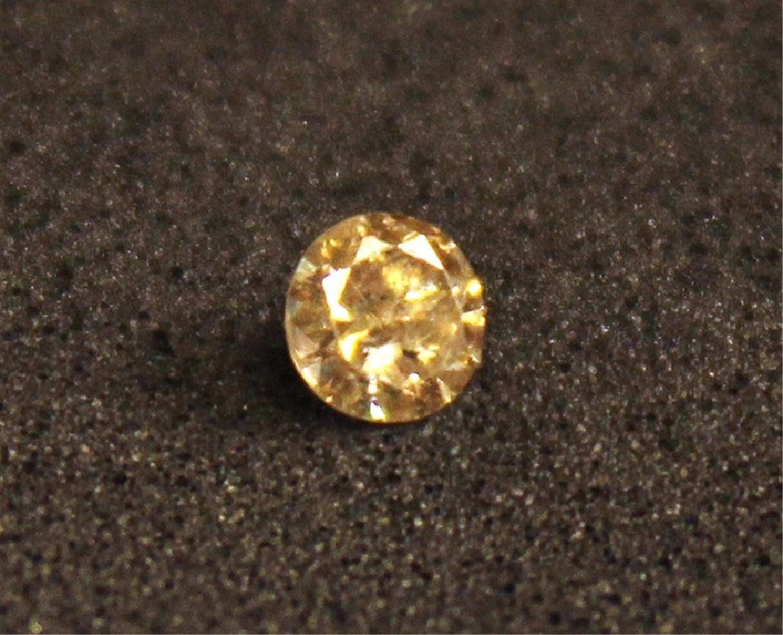 .15 CT MIN Champagne Diamond Gemstone - 2