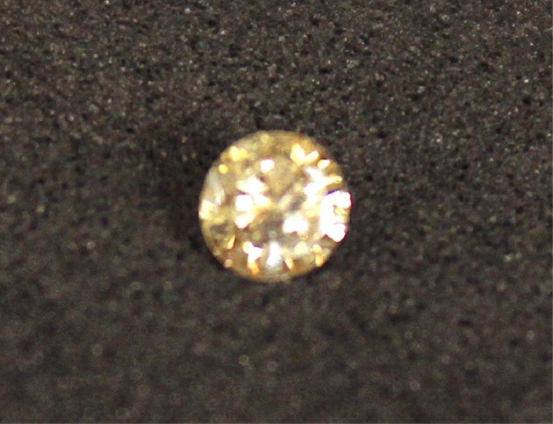 .15 CT MIN Champagne Diamond Gemstone - 4