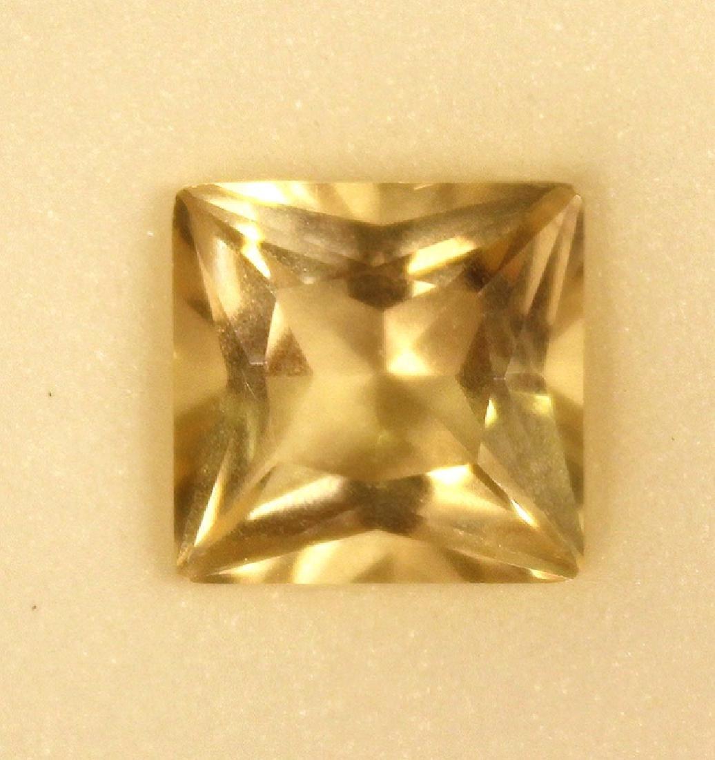 3.50 CT MIN 10x10MM Yellow Labradorite Gemstone