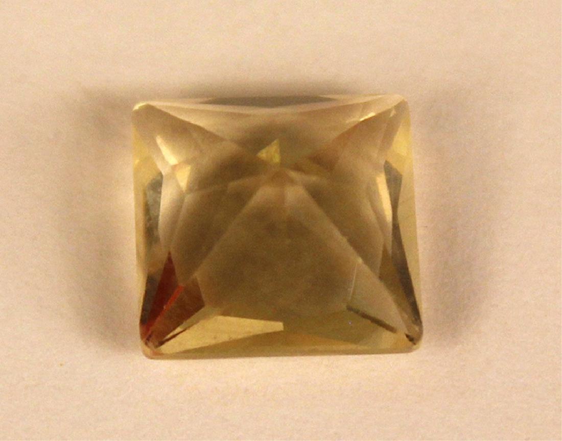 3.50 CT MIN 10x10MM Yellow Labradorite Gemstone - 4