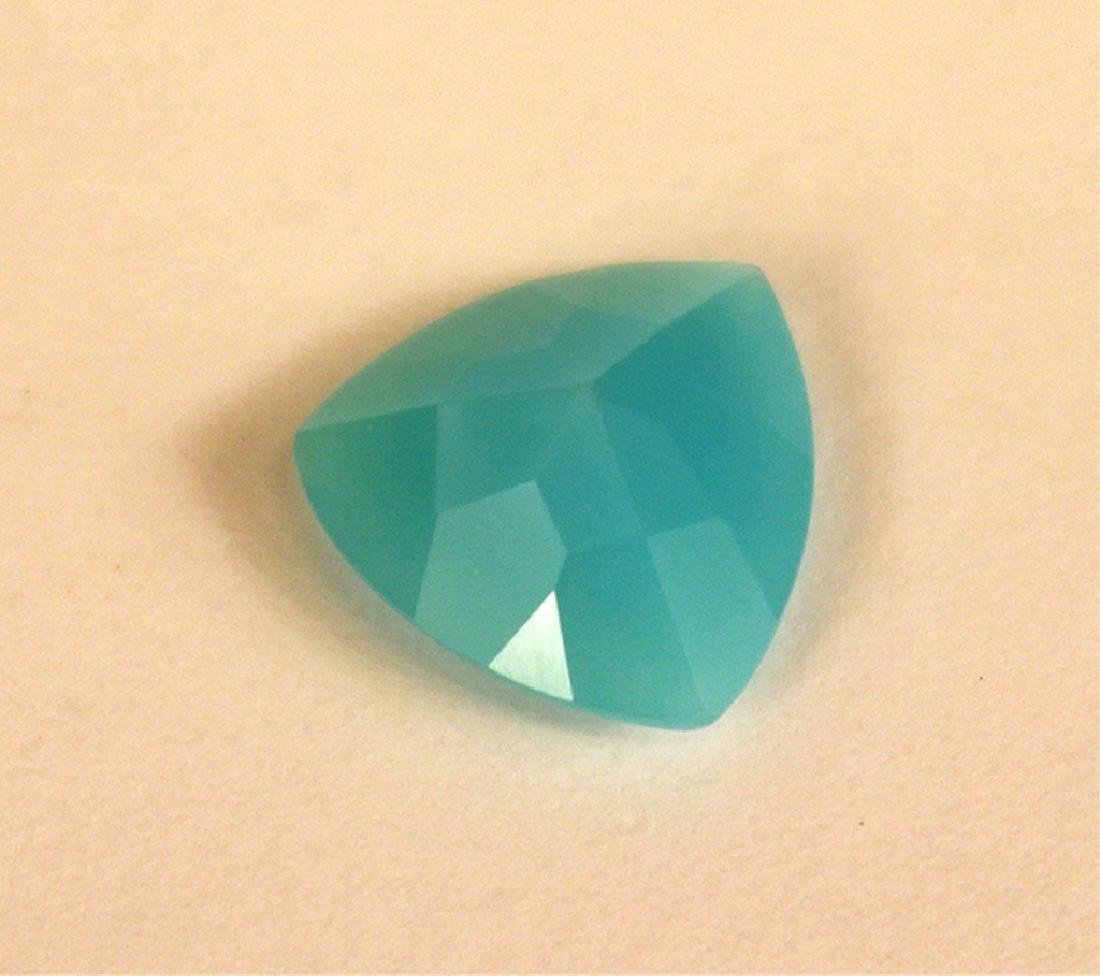 2.00 CT MIN 10x10MM Paraiba Chalcedony Gemstone - 4