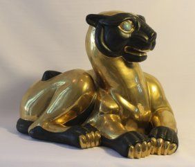 Oriental Gilded Panther