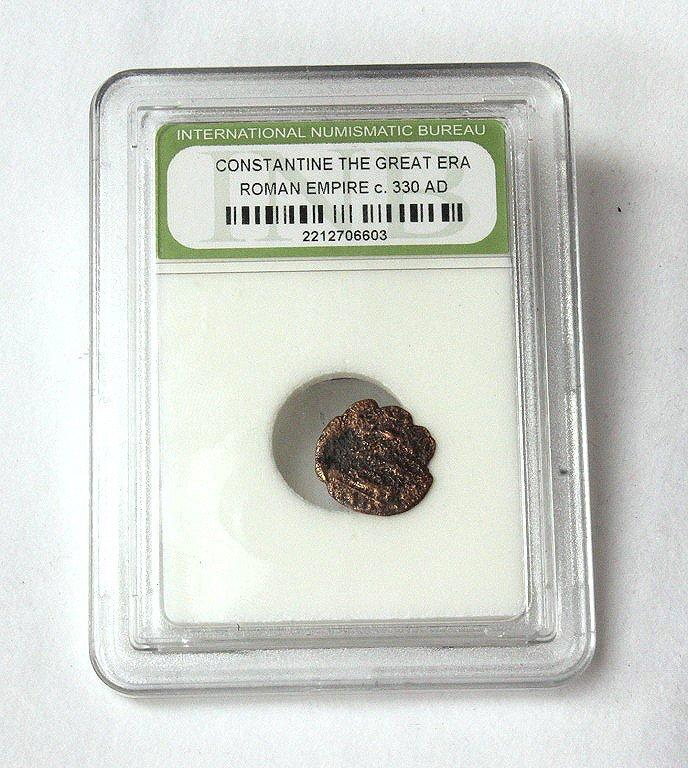 Genuine 330 AD ancient Roman coin