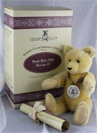 Steiff Teddy Bear - Baby Bear in the box, 1946-15
