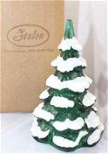 """Fenton - 6"""" Christmas tree in the box: emerald wit"""