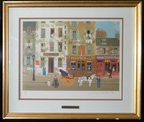 Michel Delacroix (born 1933), France, Lithograph