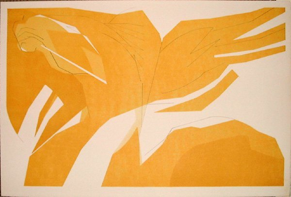 9: Andre BEAUDIN, orig. lithograph in colors of 1960
