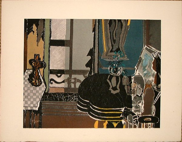 24: Georges BRAQUE, orig. lithograph in colors