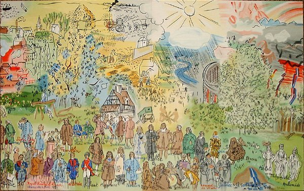 751: Raoul DUFY, orig. lithograph in colors