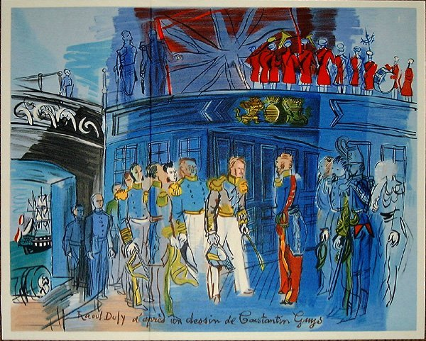 773: Raoul DUFY, orig. lithograph in colors