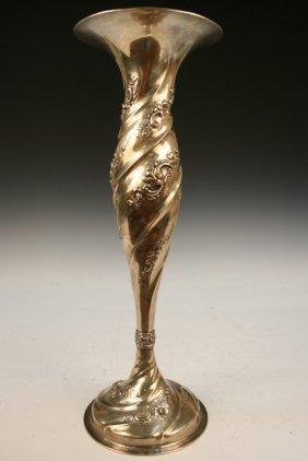 Tiffany & Co. Sterling Vase ca. 1902-1907
