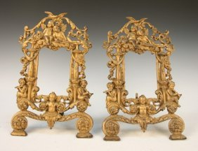 Set of 2 Neo-Mannerist Picture Frames 1890s