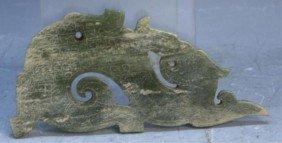 Chinese Jade Dragon Carving Han Dynasty