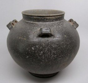 Korean Ceramic Jar Silla Dynasty
