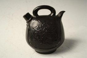 Chinese Black Ding Ware Pot Northern Song Dynasty