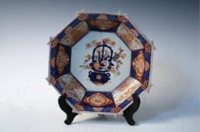 Japanese Imari Octagonal Bowl 17th Century