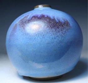 Chinese Junyao Glazed Porcelain Vase